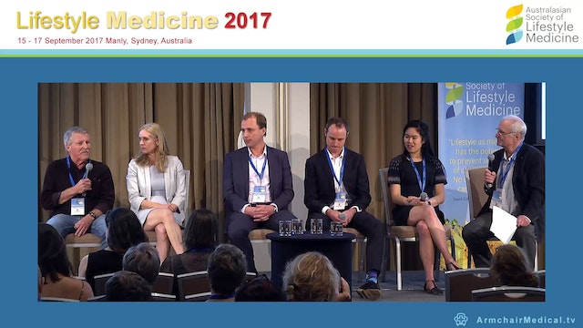 Panel discussion Making lifestyle med...