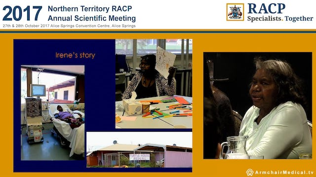 Aboriginal consumer-led pathways to cultural understanding and better patient-nurse relationships in renal care in Central Australia Irene Nangala Margaret Heffeman & Samantha Togni