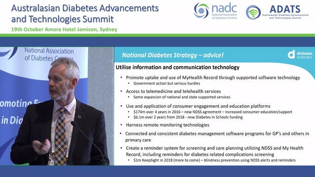 Government funding of Diabetes Techno...
