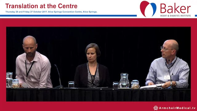 Cardiovascular Disease Panel Discussion