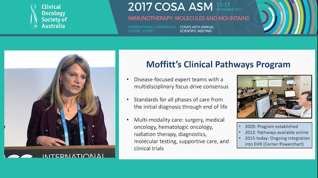 Moffitt clinical pathways translating...
