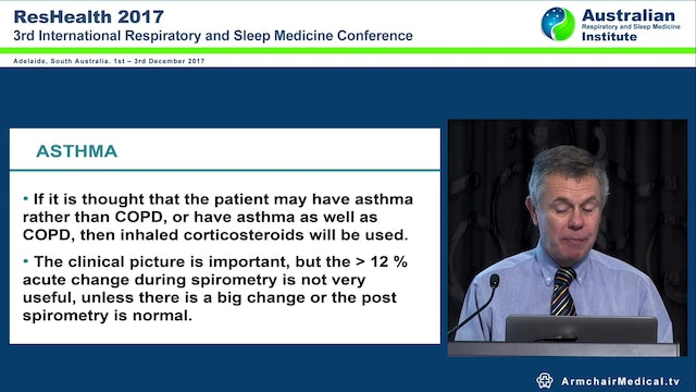 Inhaled corticosteroids in COPD Adj Assoc Prof Christopher Worsnop