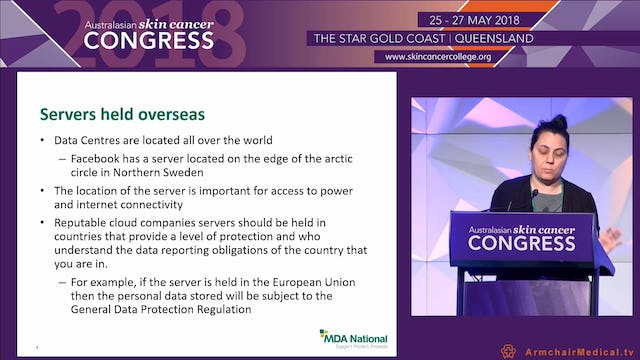Trans-border migration of data in cloud services Ms Talitha Burson