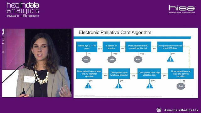 Powering palliative care with EMR Shelby Jasper @Cerner Consultant, Cerner