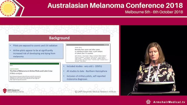 Incidence of melanoma in commercial p...