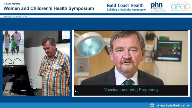 Vaccinations in pregnancy & infants Prof Paul Gaston van Buynder