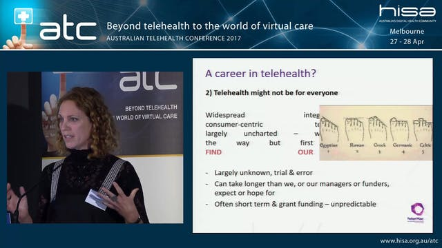 A career in telehealth What, how and ...