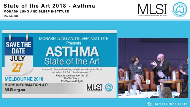 Panel Discussion The future of ASTHMA...
