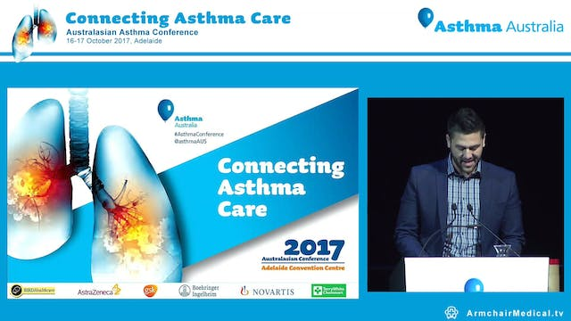 Asthma Australia Excellence Awards Presented by George Bariamis Dyson Professional