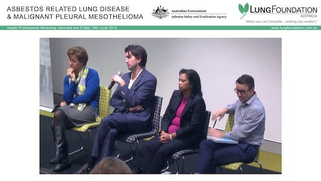 Mesothelioma Treatments Panel Discussion