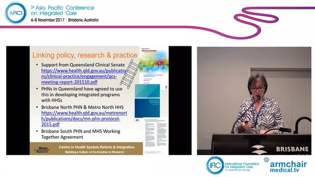 The 10 'Must haves' for successful and sustainable health service integration Caroline Nicholson