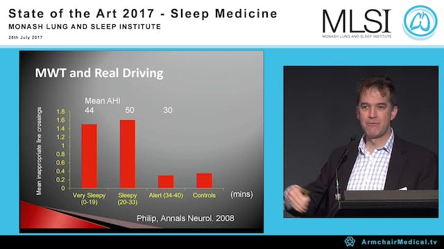 Who need sleep apnoea treatment for safety critical tasks A Prof Mark Howard