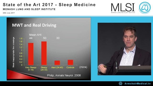 Who need sleep apnoea treatment for safety critical tasks A Prof Mark Howard