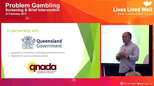 Gambling screening Dr Joel Porter