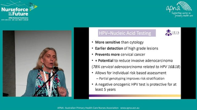 Changes to National Cervical Screening Program Dr Kay Strom