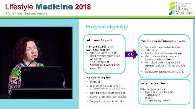 Reducing the risk of chronic disease in Queenslanders My health for life