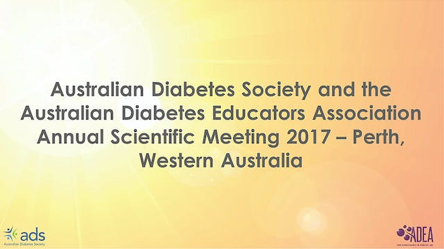 ADS-ADEA Annual Scientific Meeting 2017
