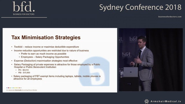Common tax deductions and tax planning strategies for doctors Stefan Sapio