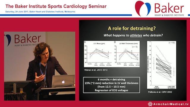 Hypertrophic cardiomyopathy or athlet...