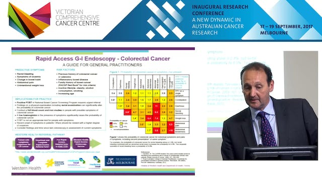 The RAGE Project Implementing diagnostic pathways for gastro-intestinal cancers Prof Jon Emery