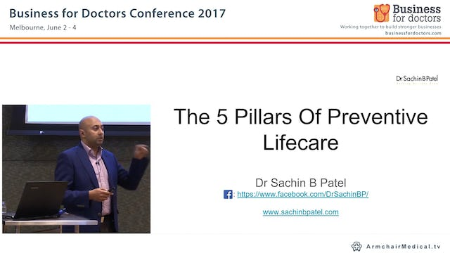 The 5 Pillars of Preventive Lifecare Dr Sachin B Patel