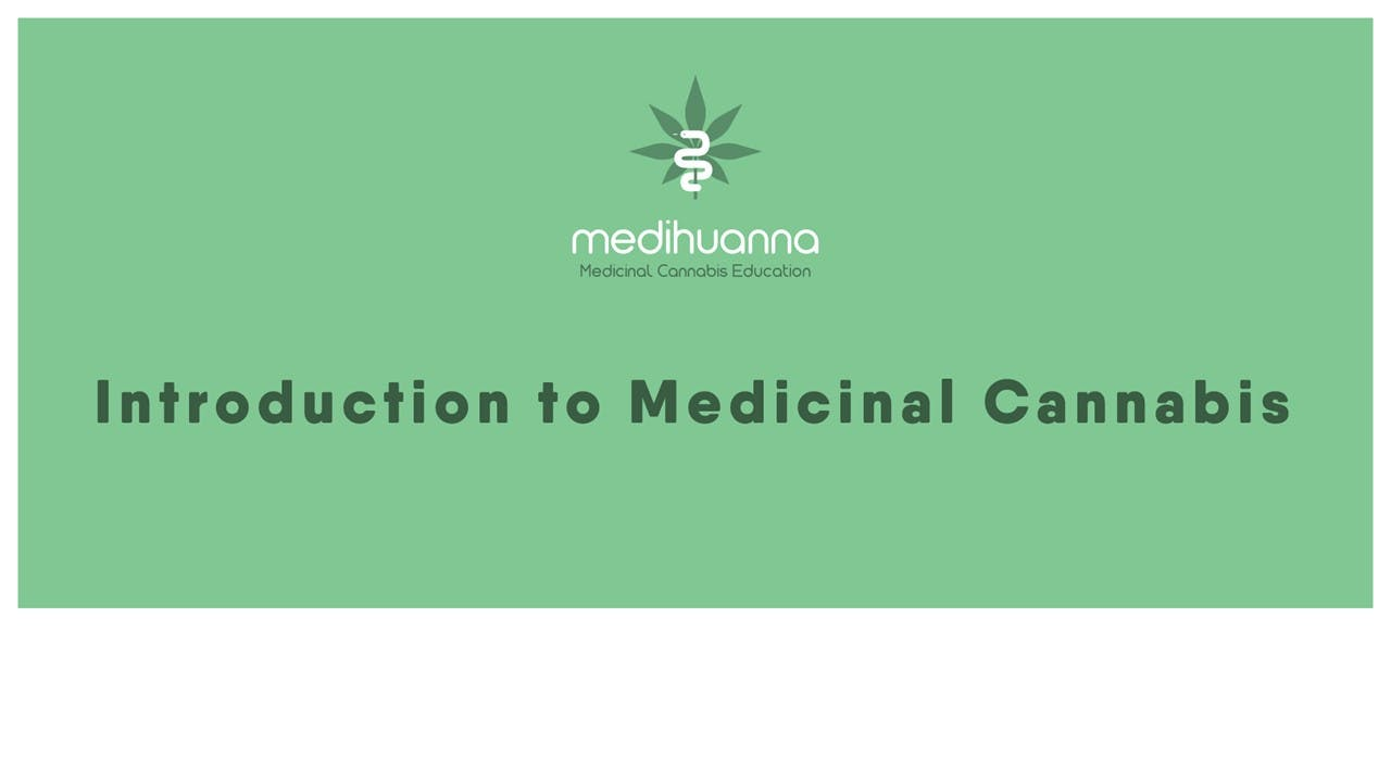 Introduction to Medical Cannabis