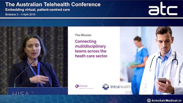 Bringing multidisciplinary team care into the mobile age Dr Katja Beitat CEO, Clinivid by Health Care Innovate
