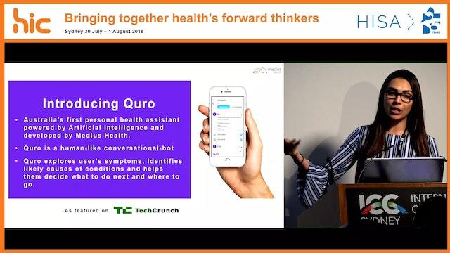 Quro A virtual healthcare companion providing personalised health information using AI Dr Shameek Ghosh