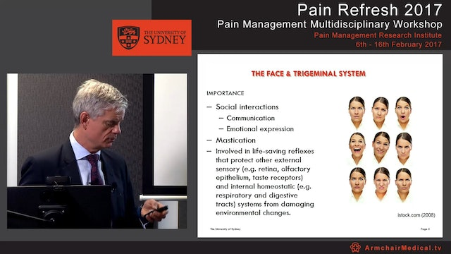 Orofacial Pain Professor Chris Peck