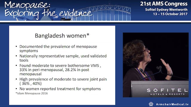 Experiencing Menopause A New Zealand Oceania Perspective Prof Bev Lawton