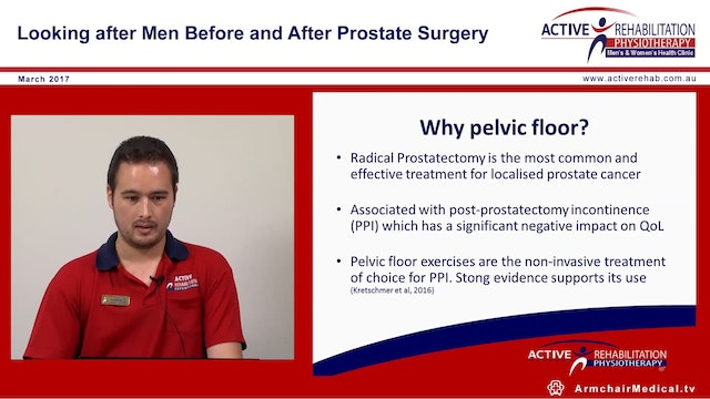 6 The male pelvic floor Jason Crow