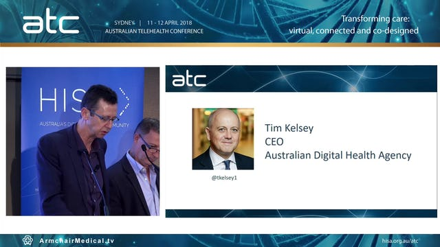 Tim Kelsey CEO Australian Digital Health Agency