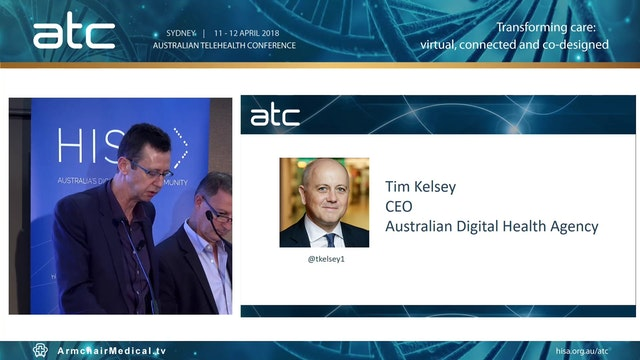 Tim Kelsey CEO Australian Digital Hea...