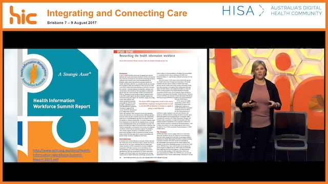 The development of a national census of the health information workforce Expert Panel recommendations Dr Kerryn Butler-Henderson