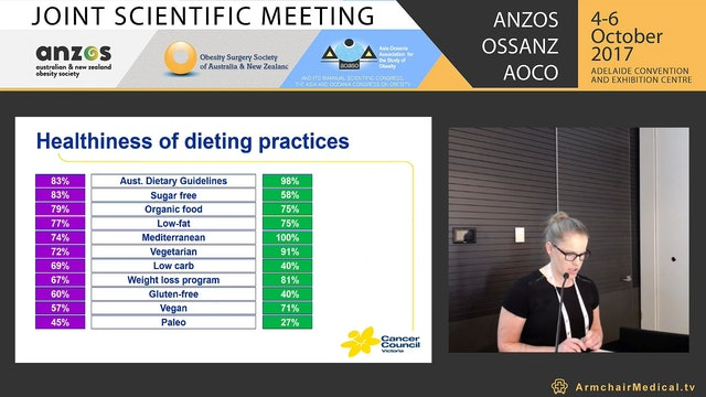 Public vs expert opinion What's healthy eating? Alison McAleese