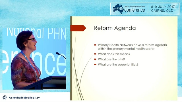 Mental health reform Who's agenda for...