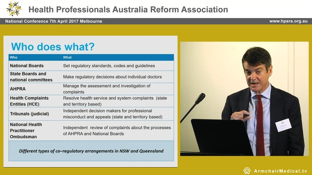The notifications process Martin Fletcher CEO AHPRA
