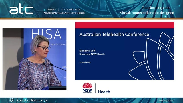 New South Wales Government Address Elizabeth Koff Secretary, NSW Health, Government of New South Wales