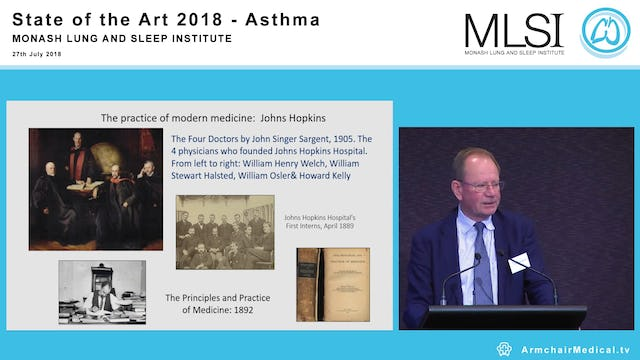 Asthma past, present, future Clinical Professor Stephen Holgate