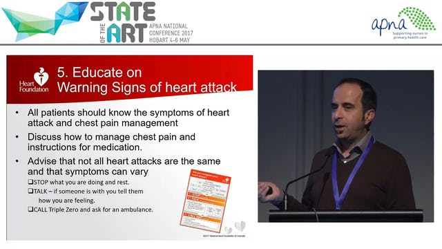 Heart Health Life after a heart attack Presenter Harry Patsamanis & Tracey Bucki Part 2