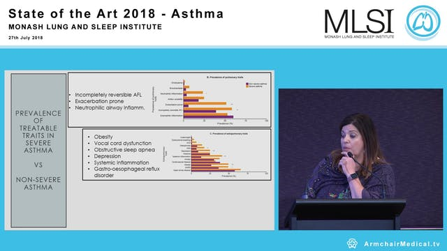 A multidimensional approach to severe asthma Professor Vanessa McDonald