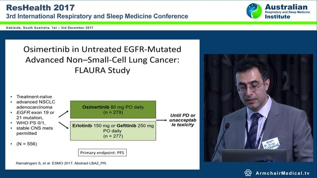 Lung Cancer Update on Targeted & Immune Therapies Dr Sina Vatandoust