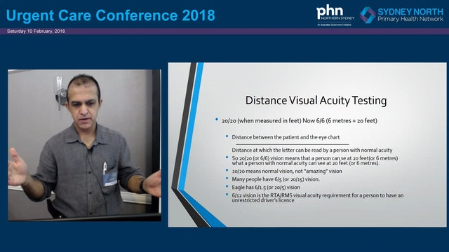 Review of history and examination in the patient presenting with an eye problem Dr Anil Arora Spark Version