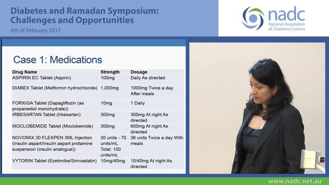 Diabetes and Ramadan 2 Case Studies Dr Elif Ekinci