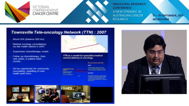 Tele-Oncology Tele-Nursing & Tele-Trials Evolution of telehealth in regional and rare cancer care Dr Abhishek Joshi