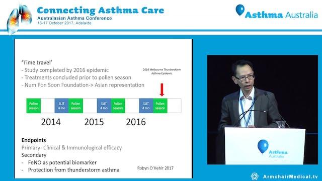 Epidemic thunderstorm asthma Profilin...