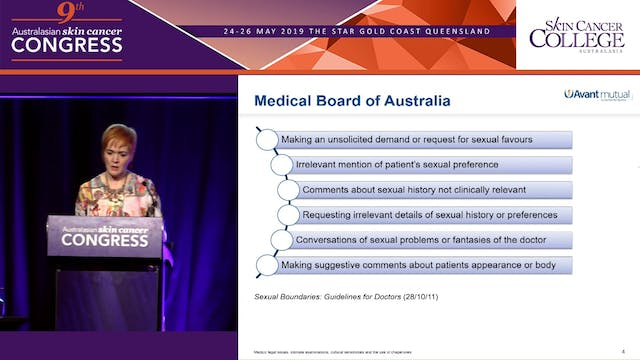 Potentially litigious patients - Prevention is better than cure Ms Marianna Kelly