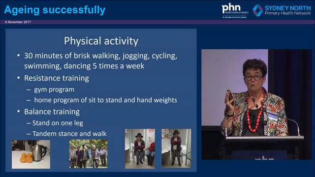 Ageing successfully Prof Susan Kurrie