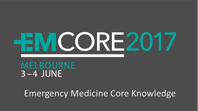 Emergency Medicine Core (EMCORE) Conference