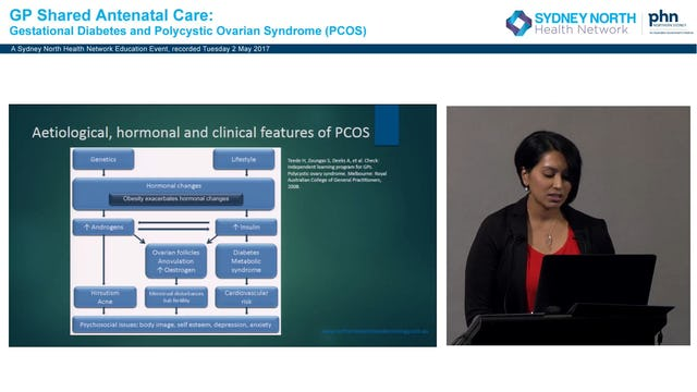 PCOS from an endocrine viewpoint, patients on metformin before conception Dr Darshika Christie-David